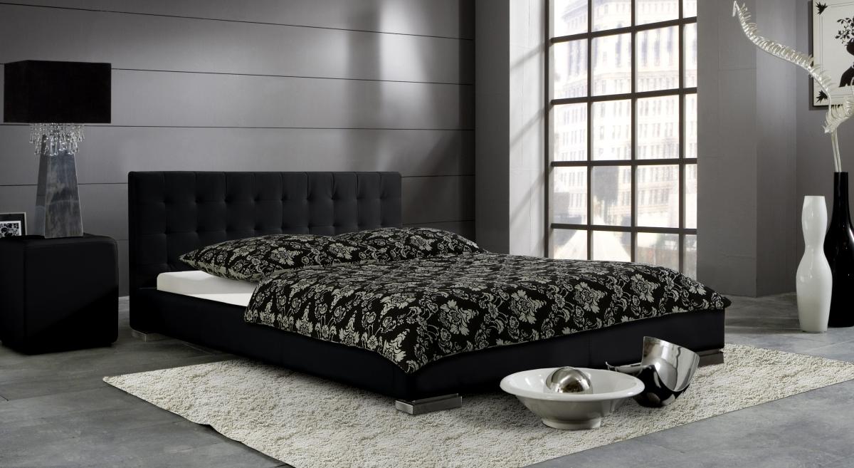 niedrige betten preisvergleiche erfahrungsberichte und. Black Bedroom Furniture Sets. Home Design Ideas