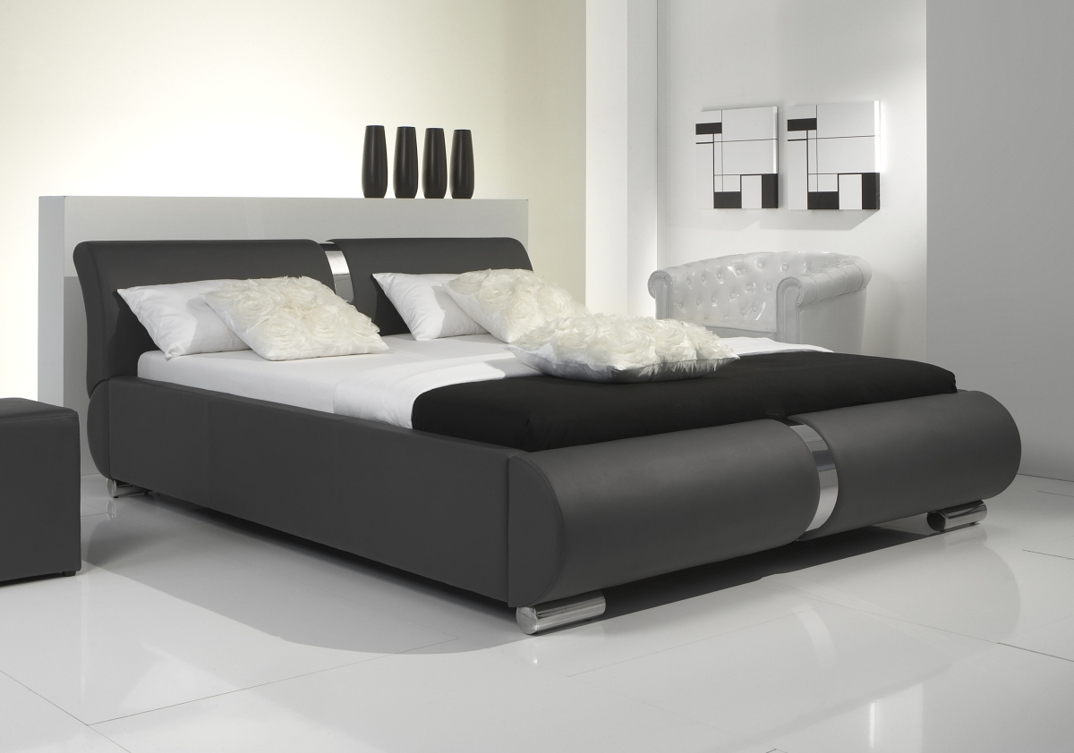polsterbetten leder preisvergleiche erfahrungsberichte. Black Bedroom Furniture Sets. Home Design Ideas