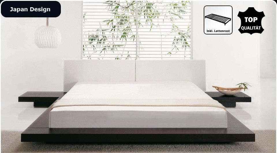 massivholz betten aus akazie buche kiefer in weiss nougat. Black Bedroom Furniture Sets. Home Design Ideas