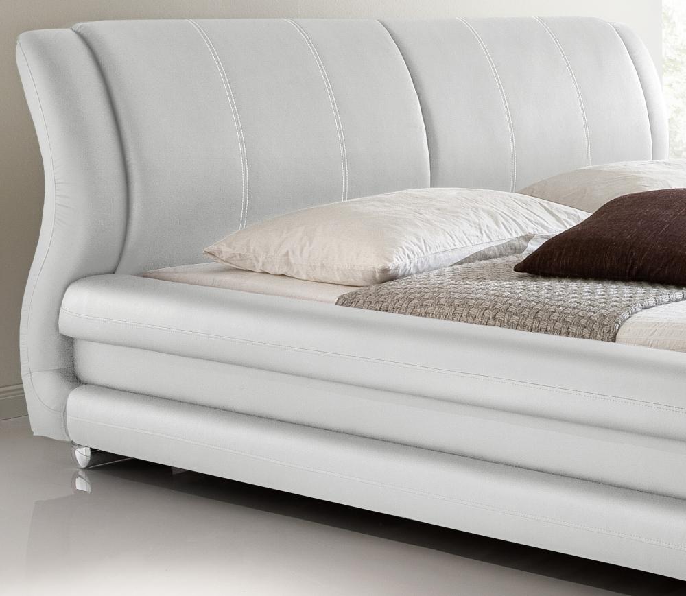 supply24 designer lederbett polsterbett basel leder. Black Bedroom Furniture Sets. Home Design Ideas