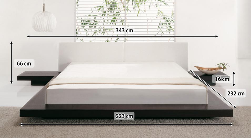 japanisches design holz bett japan style japanischer stil futonbett supply24. Black Bedroom Furniture Sets. Home Design Ideas