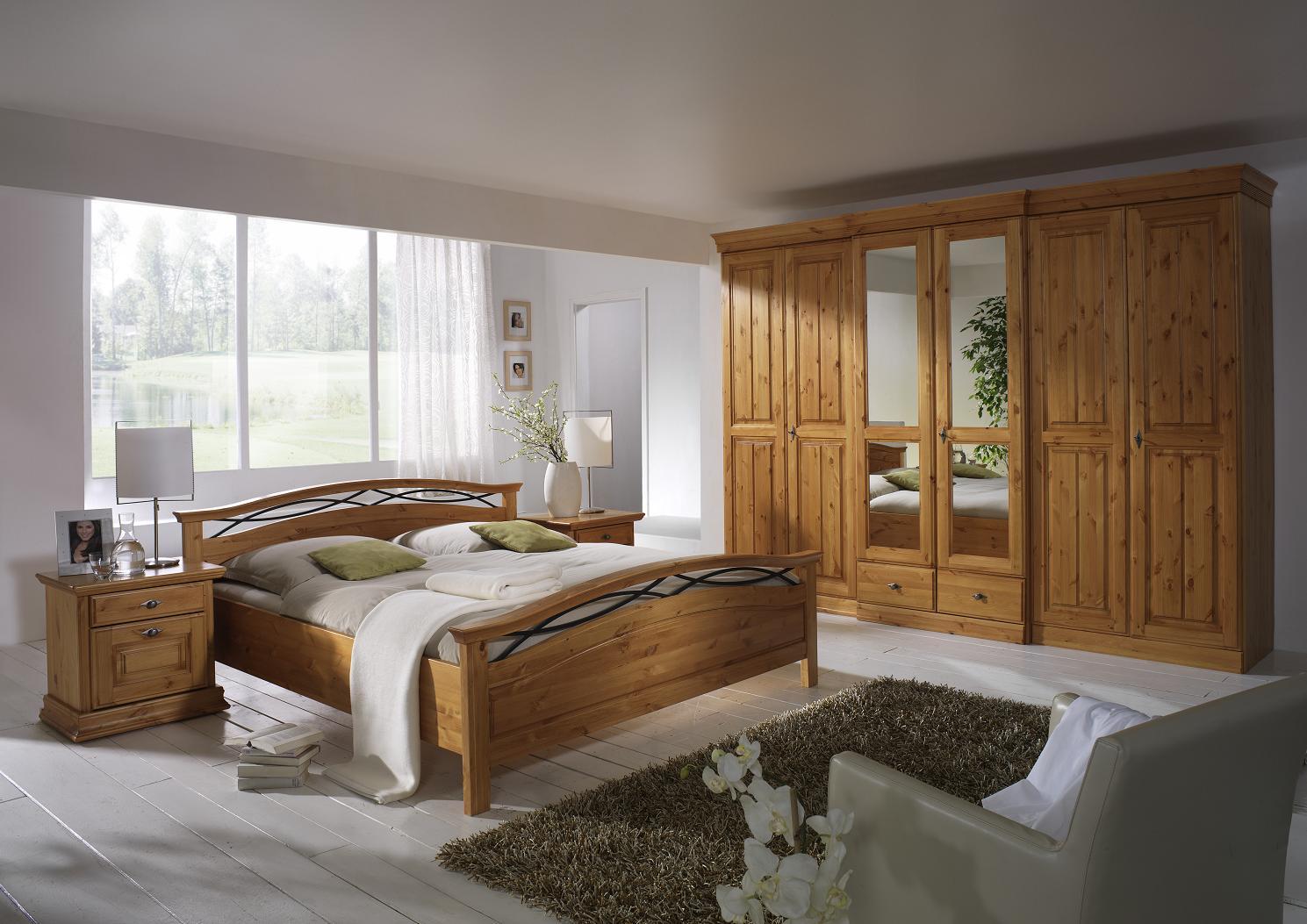 massivholz schlafzimmer komplett | bnbnews.co, Schlafzimmer entwurf