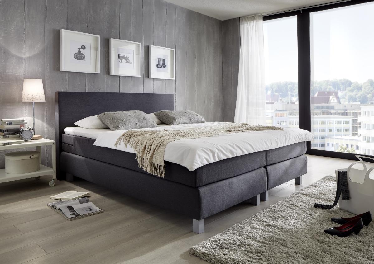 boxspringbett mit matratze visko visco matratzenauflage g nstig supply24. Black Bedroom Furniture Sets. Home Design Ideas