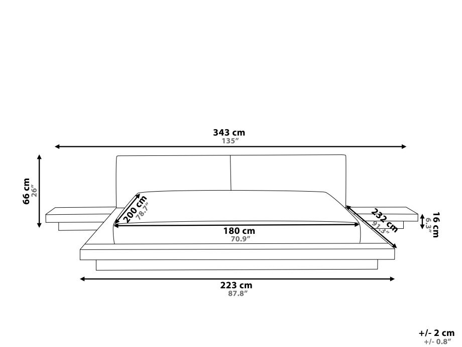 japanisches designer holz bett japan style japanischer stil futonbett braun supply24. Black Bedroom Furniture Sets. Home Design Ideas