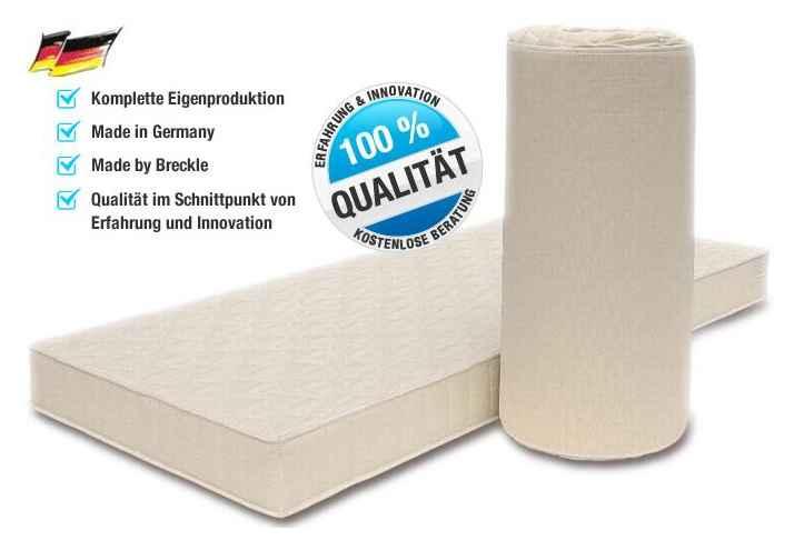 super g nstige komfortschaum matratze von breckle h he 14 cm kaufen supply24. Black Bedroom Furniture Sets. Home Design Ideas