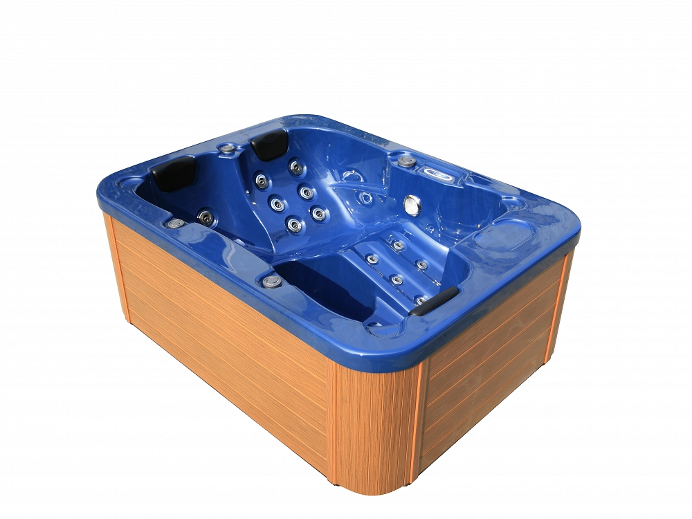 Hot tub whirlpool outdoor 27 d sen heizung ozon g nstig for Lyons whirlpool tub