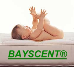 gel gelschaum kinderbett baby matratze bayscent h he 14. Black Bedroom Furniture Sets. Home Design Ideas
