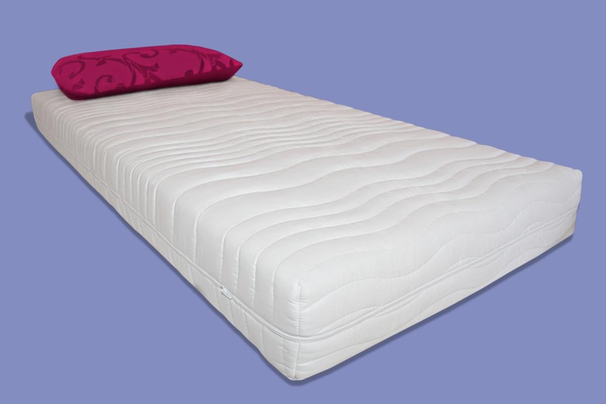 orthop dische 7 zonen wellness kaltschaum matratze h he 25 cm h2 h3 rg40 mittel ebay. Black Bedroom Furniture Sets. Home Design Ideas