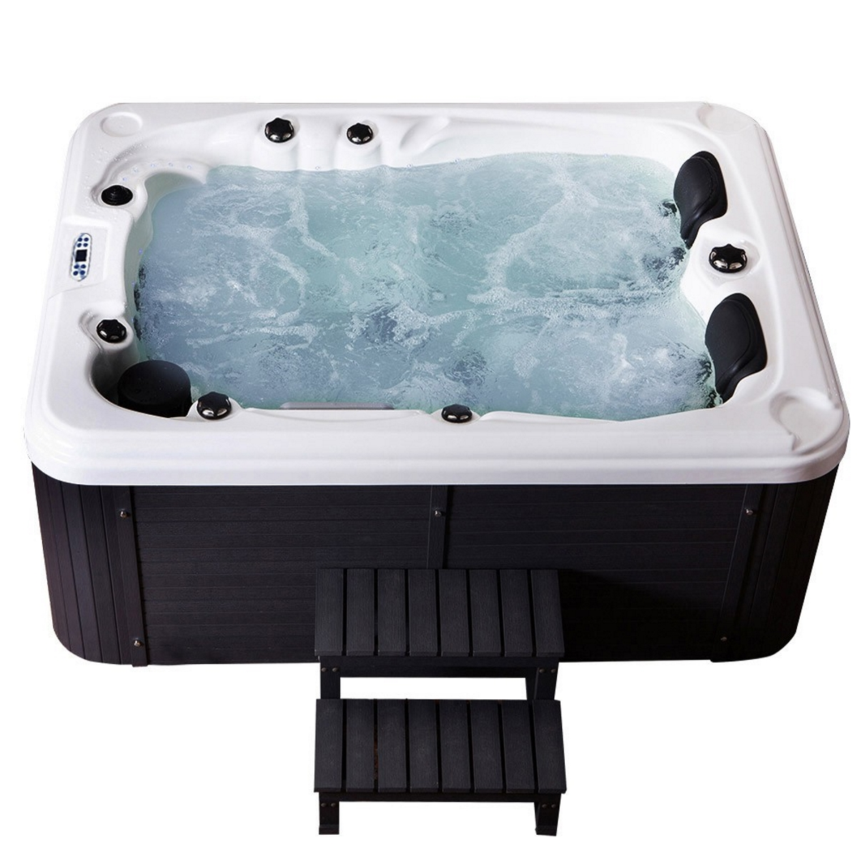 hot tub whirlpool outdoor 51 d sen heizung ozon g nstig f r 2 3 personen supply24. Black Bedroom Furniture Sets. Home Design Ideas