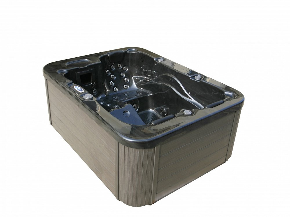 outdoor whirlpool blau mit heizung led ozon hot tub 2 3 personen au en g nstig ebay. Black Bedroom Furniture Sets. Home Design Ideas